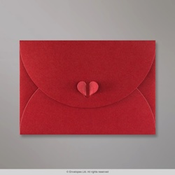 162x229 mm (C5) Cardinal Red Butterfly Envelope