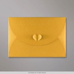 162x229 mm (C5) Gold Butterfly Envelope