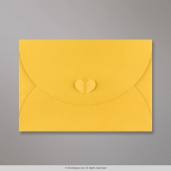 162x229 mm (C5) Golden Yellow Butterfly Envelope