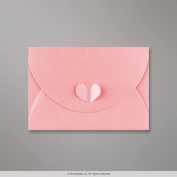 114x162 mm (C6) Baby Pink Butterfly Envelope