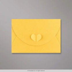 114x162 mm (C6) Golden Yellow Butterfly Envelope