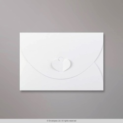 114x162 mm (C6) White Butterfly Envelope