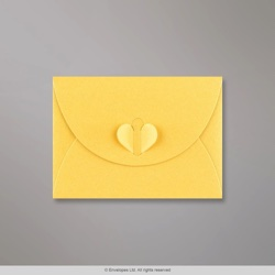 82x113 mm (C7) Golden Yellow Butterfly Envelope