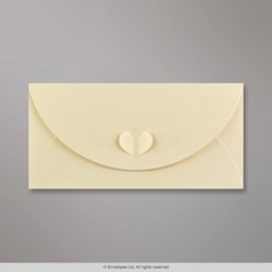 110x220 mm (DL) Champagne Butterfly Envelope