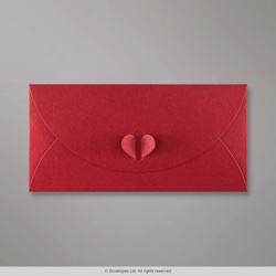 110x220 mm (DL) Cardinal Red Butterfly Envelope