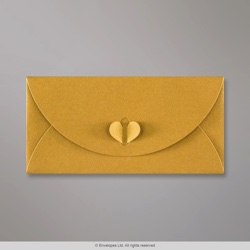110x220 mm (DL) Gold Butterfly Envelope