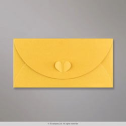 110x220 mm (DL) Golden Yellow Butterfly Envelope