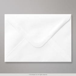 120x165 mm White Envelope, White, Gummed