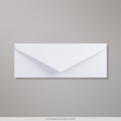 80x215 mm White Wove Envelope