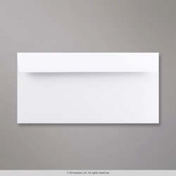 110x220 mm (DL) White Wove Envelope