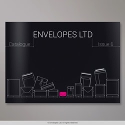 Envelopes Ltd - Catalogue - Issue 6, Black, Gummed