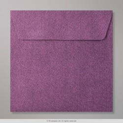 130x130 mm Amaranth Textured Envelope