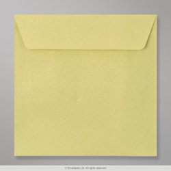 130x130 mm Bean Green Textured Envelope