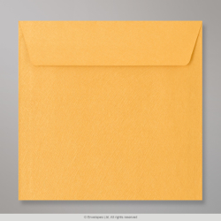 130x130 mm Gold Textured Envelope