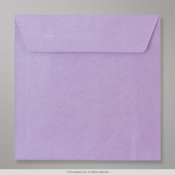 130x130 mm Lilac Textured Envelope