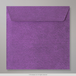 130x130 mm Violet Textured Envelope