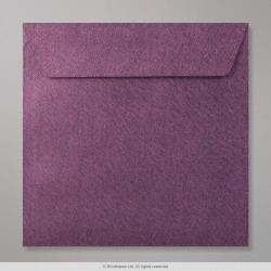 155x155 mm Amaranth Textured Envelope