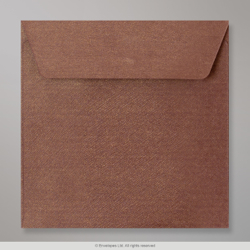 155x155 mm Bronze Ore Textured Envelope