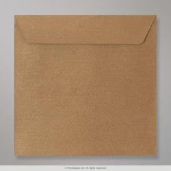 155x155 Bronze Textured Envelope