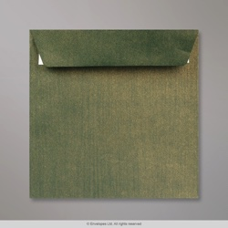155x155 Champagne Green Textured Envelope