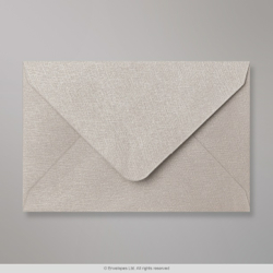 62x94 mm Silver Grey Textured Envelope