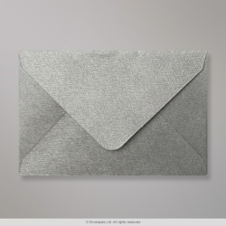 62x94 mm Silver Textured Envelope