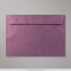162x229 mm (C5) Amaranth Textured Envelope