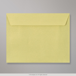 162x229 mm (C5) Bean Green Textured Envelope