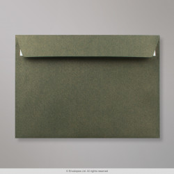 162x229 mm (C5) Champagne Green Textured Envelope