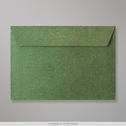 162x229 mm (C5) Forest Green Textured Envelope