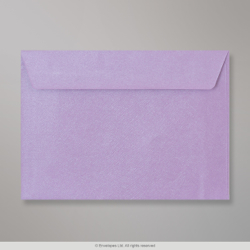 162x229 mm (C5) Lilac Textured Envelope