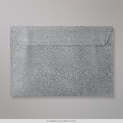 162x229 mm (C5) Mid Grey Textured Envelope