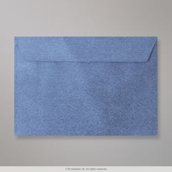 162x229 mm (C5) Royal Blue Textured Envelope