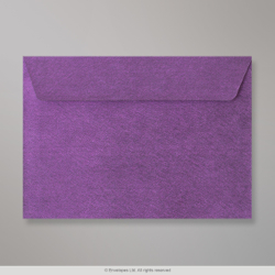 162x229 mm (C5) Violet Textured Envelope