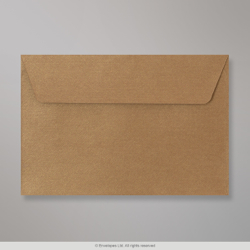 114x162 (C6) Bronze Textured Envelope