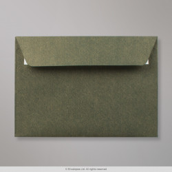 114x162 (C6) Champagne Green Textured Envelope