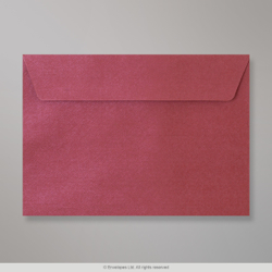 114x162 (C6) Claret Textured Envelope