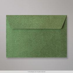 114x162 (C6) Forest Green Textured Envelope