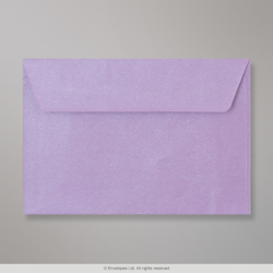 114x162 (C6) Lilac Textured Envelope