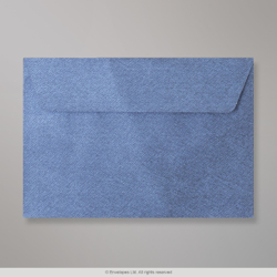 114x162 (C6) Royal Blue Textured Envelope