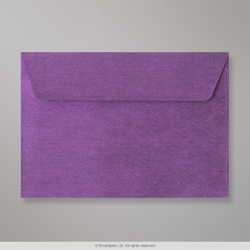 114x162 (C6) Violet Textured Envelope