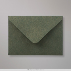 82x113 (C7) Champagne Green Textured Envelope