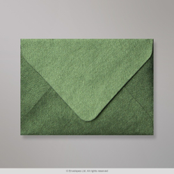 82x113 (C7) Forest Green Textured Envelope