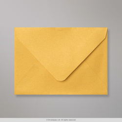 82x113 (C7) Gold Textured Envelope