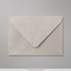 82x113 (C7) Silver Grey Textured Envelope