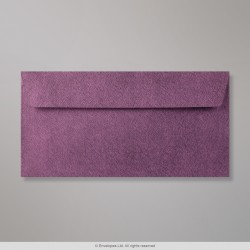 110x220 mm (DL) Amaranth Textured Envelope, Amaranth, Peel and Seal