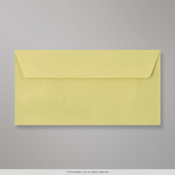 110x220 mm (DL) Bean Green Textured Envelope