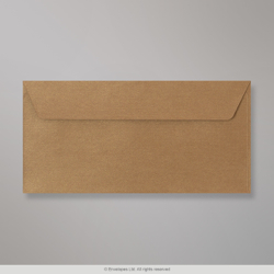 110x220 mm (DL) Bronze Textured Envelope
