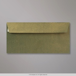 110x220 mm (DL) Champagne Green Textured Envelope