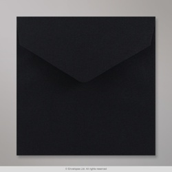 170x170 mm Black V-flap Peel & Seal Envelope